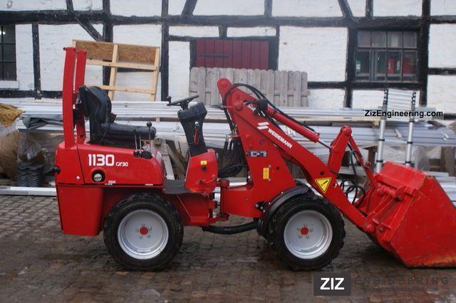 2007 Weidemann  1130cx Agricultural vehicle Farmyard tractor photo