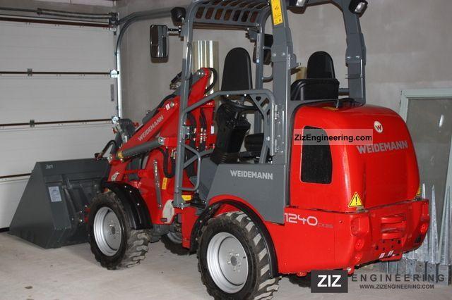 2011 Weidemann  1240 Light-CX 35 + pallet fork Agricultural vehicle Farmyard tractor photo