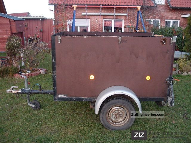 1985 Westfalia  AA1 Trailer Trailer photo