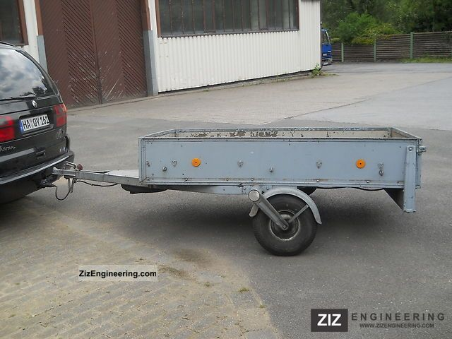 1986 Westfalia  open box Trailer Trailer photo