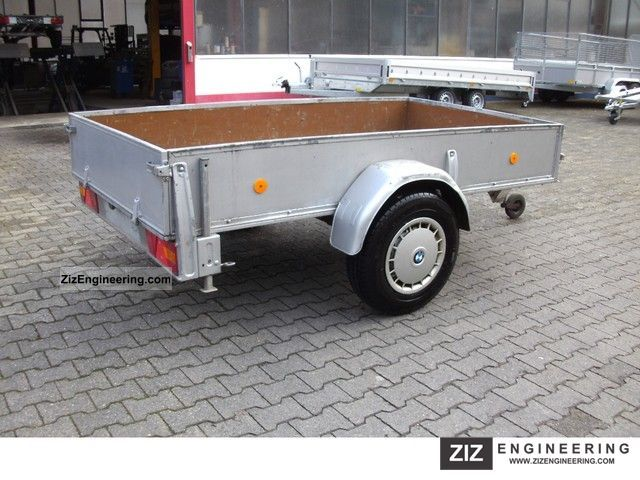 1985 Westfalia  118 451 box trailer Trailer Trailer photo