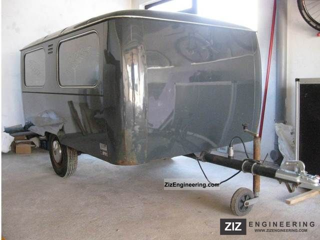 1975 Westfalia  Hearses Trailer Trailer photo