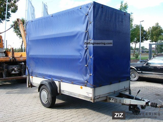 2001 Westfalia  118 451 Trailer Trailer photo