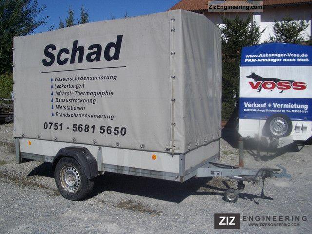 2001 Westfalia  1200kg - 300x130cm with tarpaulin 180cm Trailer Trailer photo