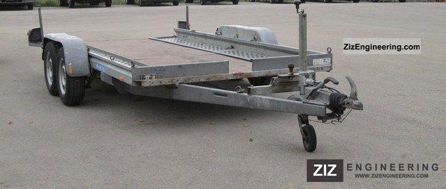 2005 Westfalia  Car Transporter (payload 2.100kg) Trailer Car carrier photo