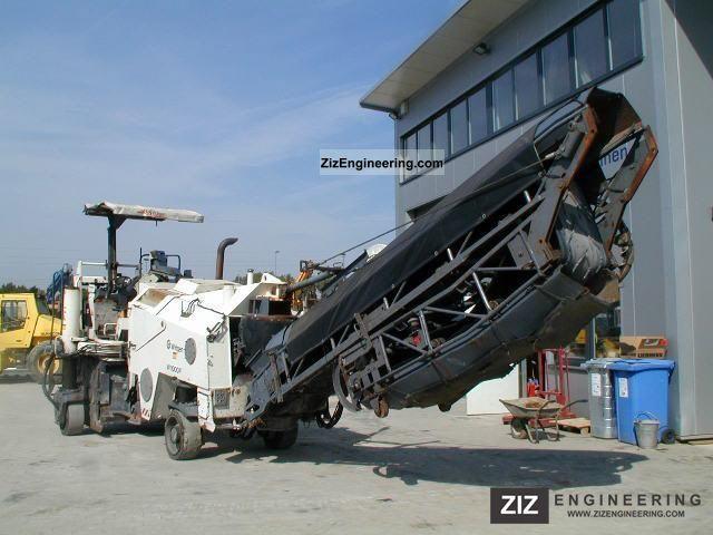 Wirtgen W 1000 F 2001 Road Building Technology