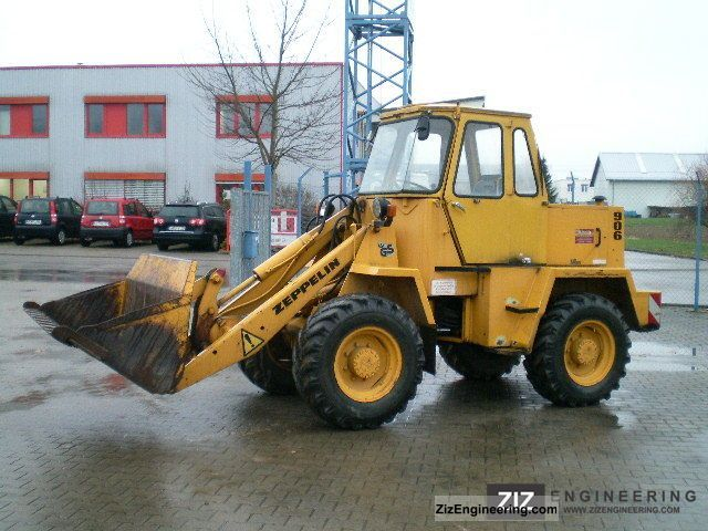 1982 Zeppelin  906 Construction machine Wheeled loader photo