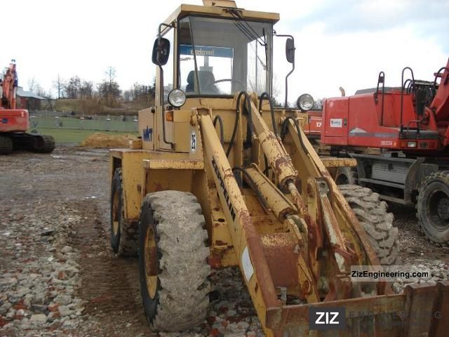 1991 Zeppelin  ZL 8 Construction machine Wheeled loader photo