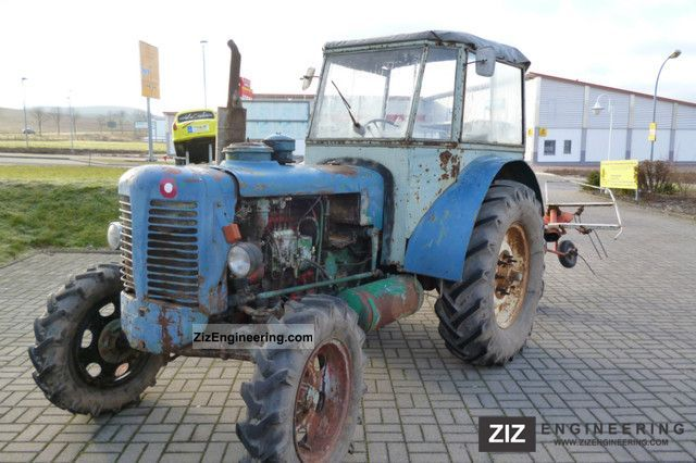 Zetor Super 50 1957 Agricultural Tractor Photo And Specs