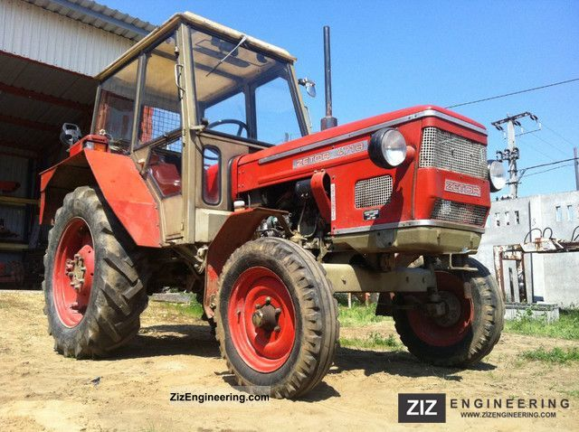 1977 Zetor  4718 Agricultural vehicle Tractor photo