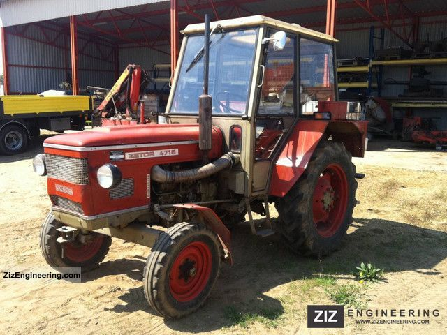 1977 Zetor 4718 Agricultural vehicle Tractor photo ...