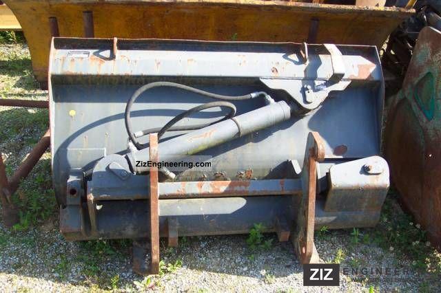 2011 Zettelmeyer  Seitenkippschaufel for ZL 402 Wheel Loader Construction machine Other substructures photo