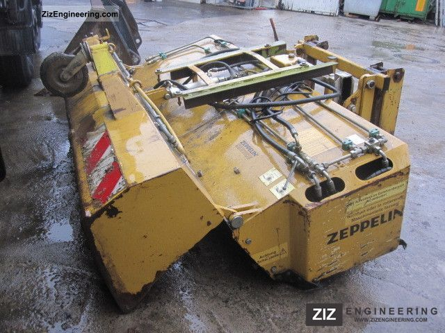 2003 Zettelmeyer  SWEEPER for wheel loaders Construction machine Other substructures photo