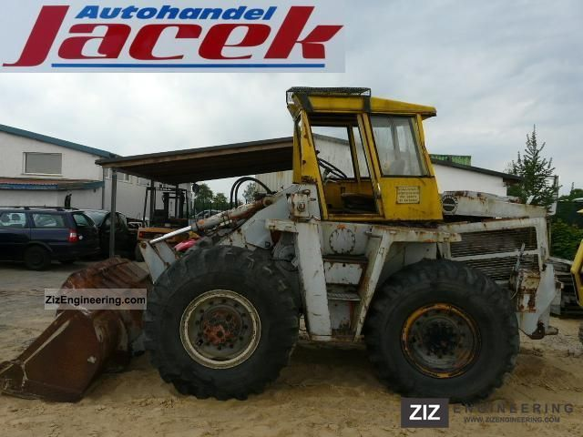1973 Zettelmeyer  L 1000 Construction machine Wheeled loader photo