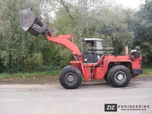 1993 Zettelmeyer  ZL 2002 ** ** Hochkippschaufel/3.Steuerkreis Construction machine Wheeled loader photo