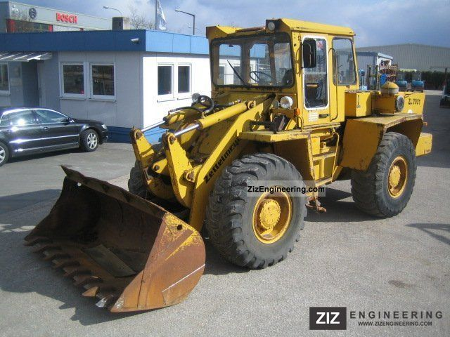1985 Zettelmeyer  ZL 2001 Construction machine Wheeled loader photo