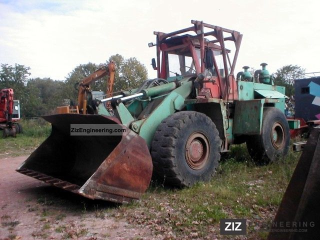 1985 Zettelmeyer  ZL 4000 Construction machine Wheeled loader photo