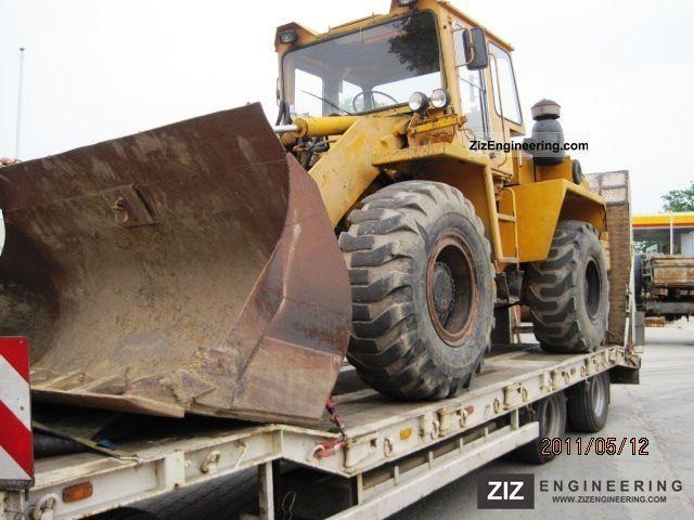 2011 Zettelmeyer  ZL 2001, BJ: about 1988-1990 Construction machine Wheeled loader photo