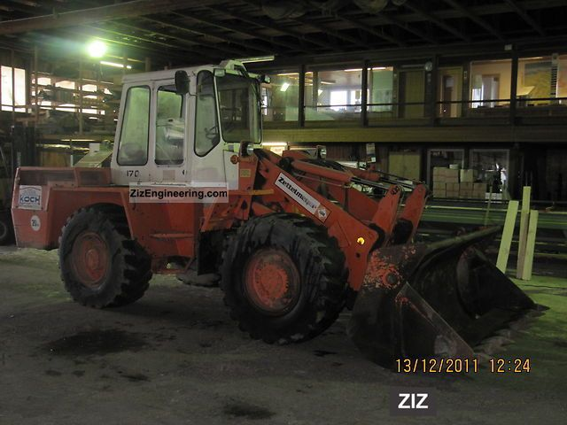 1983 Zettelmeyer  ZL 1700 Construction machine Wheeled loader photo