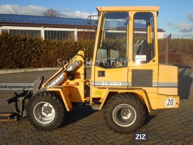 1996 Zettelmeyer  ZL 302 Construction machine Wheeled loader photo