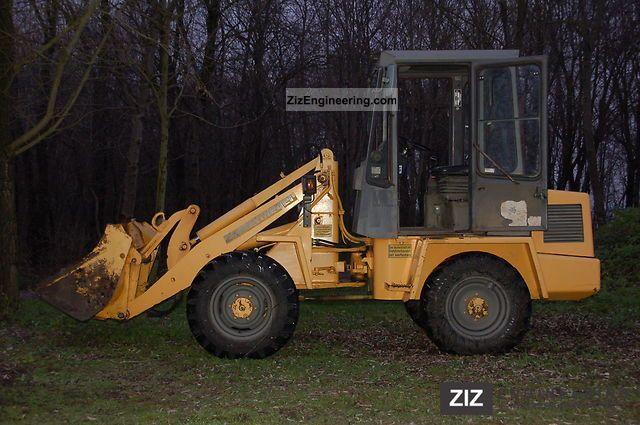 1992 Zettelmeyer  ZL 402 Construction machine Wheeled loader photo