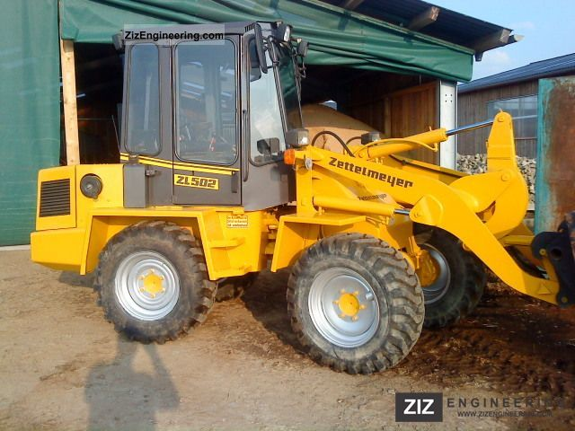 1991 Zettelmeyer  502 zl Construction machine Wheeled loader photo