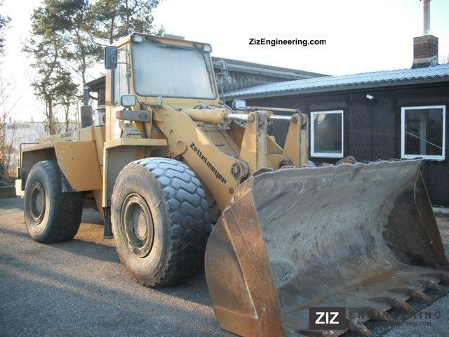1994 Zettelmeyer  ZL 3002 Construction machine Wheeled loader photo