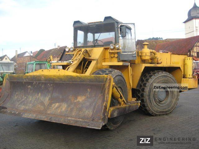 1990 Zettelmeyer  3001, articulated, Construction machine Dozer photo