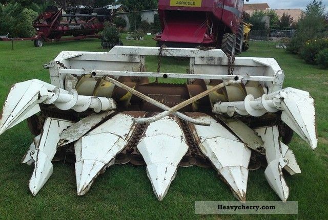 1989 New Holland  Corn cutting 6 - Reihig Agricultural vehicle Harvesting machine photo