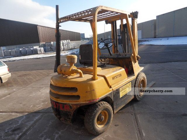 Hyster 2 5 Tonner 1975 Front Mounted Forklift Truck Photo