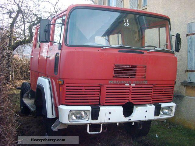 1975 Magirus Deutz  FM120D Semi-trailer truck Other semi-trailer trucks photo