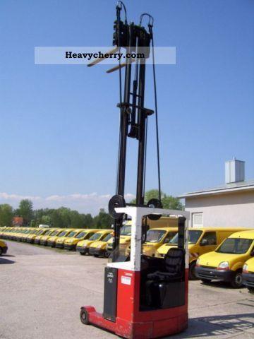 1991 Lansing  ERT 12/13.5 TRIPLEX FREE LIFT Forklift truck Reach forklift truck photo
