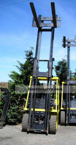 Lansing Bonser 1995 Front Mounted Forklift Truck Photo And Specs