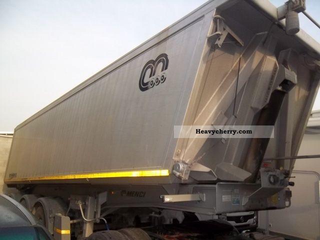 2004 Menci  SL 710-12 Semi-trailer Tipper photo