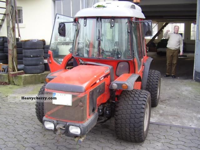 Carraro Trx 8400 2003 Mod 2002 Agricultural Tractor Photo