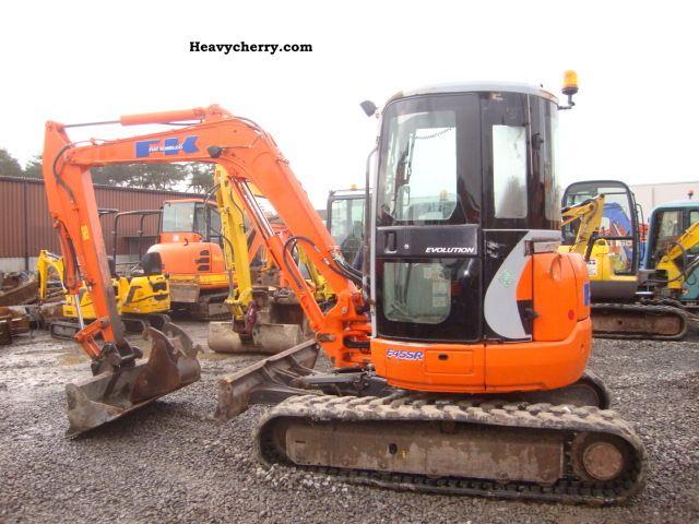 2003 Kobelco  E45SR Construction machine Mini/Kompact-digger photo