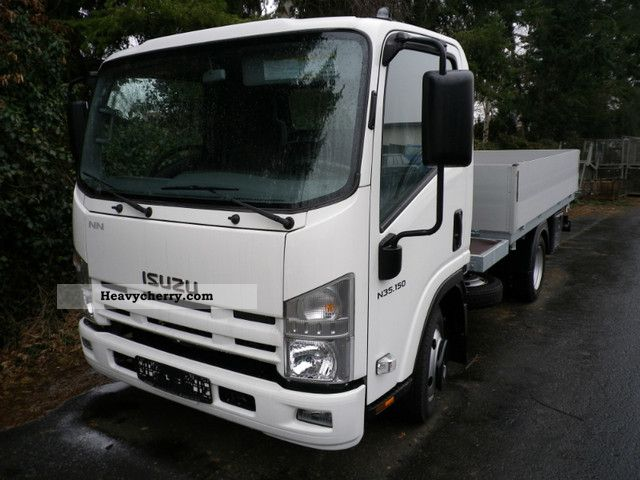 2011 Isuzu  N35 3-way tipper Van or truck up to 7.5t Tipper photo