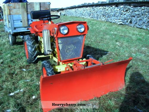 1965 Gutbrod  MF 11 Agricultural vehicle Other substructures photo