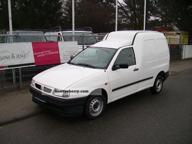 2003 Seat  Inca 1.9 SDI box 110000km 1-hand Van or truck up to 7.5t Box-type delivery van photo