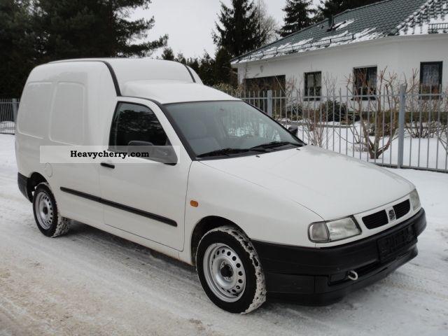 2003 Seat  Inca Van or truck up to 7.5t Box-type delivery van photo