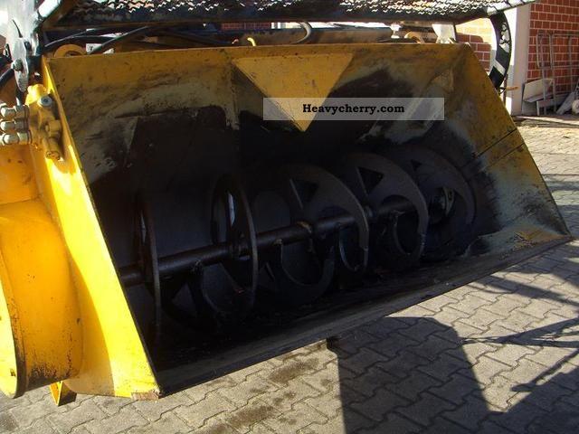 2001 Zettelmeyer  Concrete mixing bucket Construction machine Wheeled loader photo
