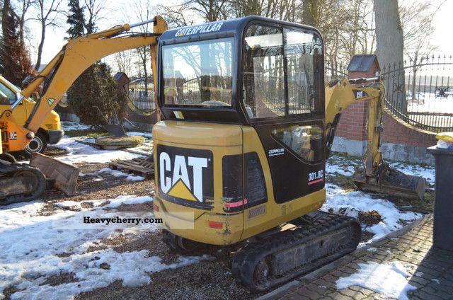 2006 CAT  Caterpillar 301.8C, jcb never, never schaffer Construction machine Mini/Kompact-digger photo