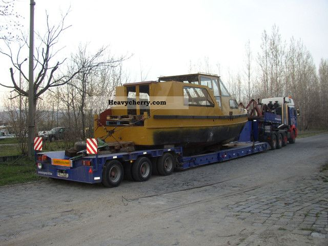 1996 Broshuis  3 ABU 48 Semi-trailer Low loader photo