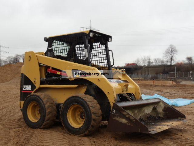2007 CAT  236B Skid Steer vergl.242B Turbo \u0026 277 Construction machine Wheeled loader photo