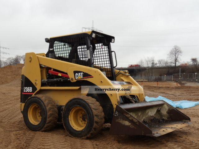2007 CAT  236B Turbo Skid Steer vergl.226B Construction machine Wheeled loader photo