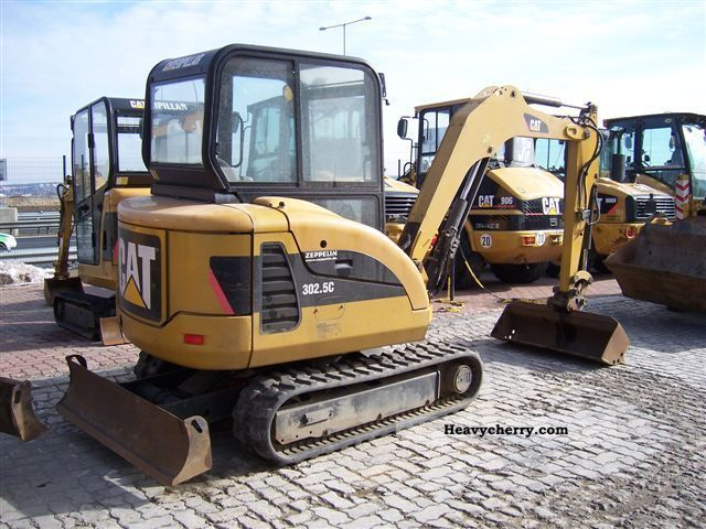 Cat 302 5c 2007 Other Construction Vehicles Photo And Specs