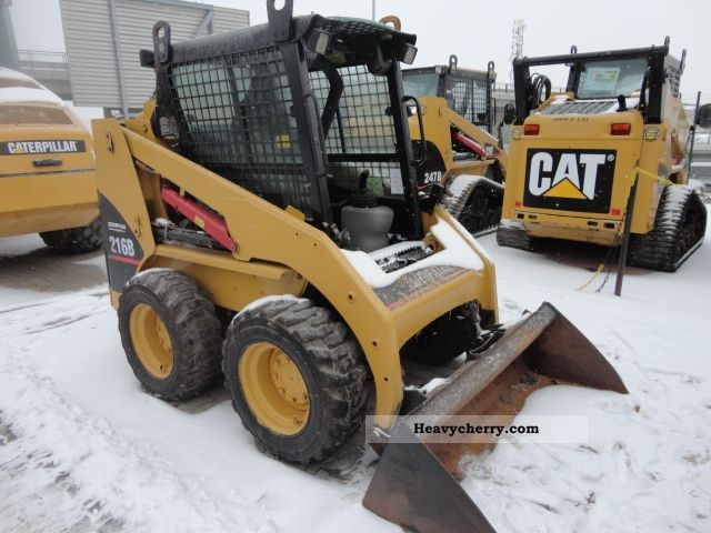 2006 CAT  216B Construction machine Other construction vehicles photo