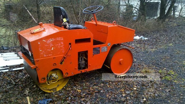 1983 Hamm  HVT 2 Construction machine Rollers photo
