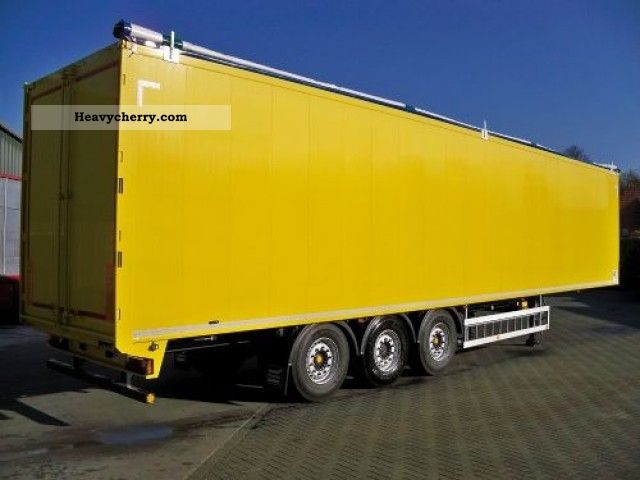 Knapen K200 New 2012 Walking Floor Semi Trailer Photo And