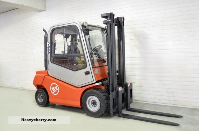 2008 BT  C4D 300D, SS, CAB Forklift truck Front-mounted forklift truck photo